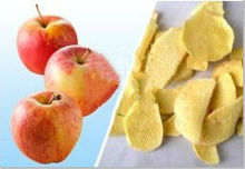 delicious dried apple fruit, dried apple dices for healthy dessert