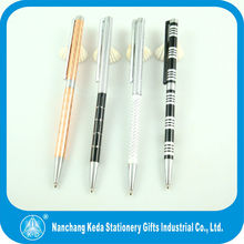 2014 luxurey stationery new design custom with rhinestone cheap promotional ball pen