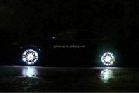 Best Selling Car Wheel Led Light led flashing car light cool wheel lamp colorful tire lighting for car styling