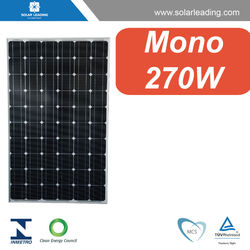 Hot sale 270w solar panel supplier with solar cell production line for home solar system