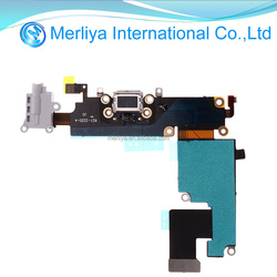 For Iphone 6 plus 5.5'' USB Charging Port Dock Mic Headphone Flex Cable