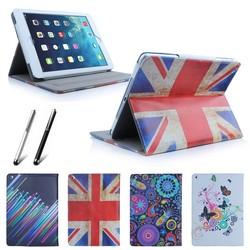 Retro PU Leather Smart Case Cover for Apple iPad Mini 2 iPad 3 4 iPad Air 5