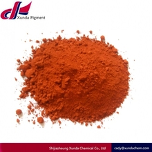 Factory fine powder color powder iron oxide red for Modified bitumen