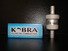 Fuel Filter - Anodized Aluminum