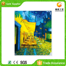 Diy Colorful Plastic Diamond Mosaic On Street Scenes Oil Painting On Canvas By Famous Painters