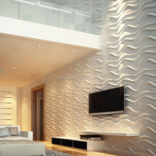 decorative 3d wall boards for tv wall board with 3d effect