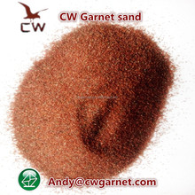 sharp edges garnet sand 80 for water jetting