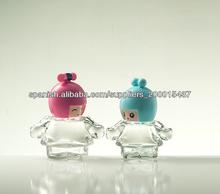 botella de cristal muñeca lindo mini