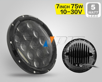New products 7'' High/Low Beam Headlight daytime running light car led drl