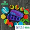 New arrive collapsible product ball non-stick concentrate silicone container wax from China supplier