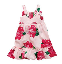 summer product Children frock new model beautiful flower girl dress