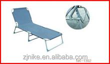 folding bed/ adjustable bed with steel tube frame
