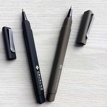 Plastic rubber triangle ball pen for hotel and catering adversting