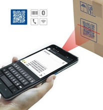 CILICO 7 inch android tablet pc with 2D barcode scanner bluetooth, strap over at the back for easy handle