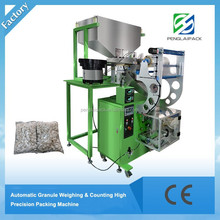 Automatic big volume screw and electric parts counting packing machine