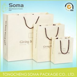 Popular new products creative customized paper gift bag