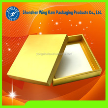 Gold High Quality Paper Box Gift Container