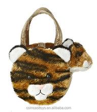 Plush handbag for Fancy Pals Pink Tiger Plush Toy Pet Carrier stuffed pet carrier handbag