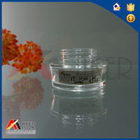 Factory supply high quality pure 20ml glass jars wholesale