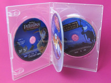 wholesale plastic caso dvd 14mm 4 discos