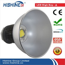 Hot!!! 5 Years Warranty Meanwell 150W led high bay I with oil radiator heat dispatch design!
