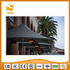 ceiling wall patio heater coffee shop used
