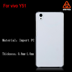 Factory Price Cell Phone Case for vivo Y51 pc case ,crystal phone case for vivo Y51 mobile phone case