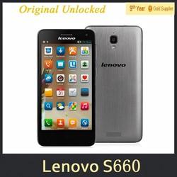 Original Lenovo S660 Quad Core Smartphone 1G RAM 8G ROM 4.7Inch IPS QHD Screen 8.0MP Camera Android4.2 MTK6582 3G Phones