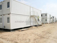 Prefab CE & B.V. certificated modular 40ft shipping container house