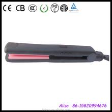 iniezione di colore nero elettronico galleggiante raddrizzatore dei capelli di ferro piatto