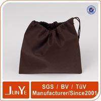 Custom printed cotton drawstring velvet shoe bags pouch