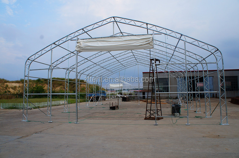 Made In China High Quality Big Steel Frame Tent For Sale