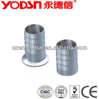 Sanitary stainless steel hose 316 ferrule