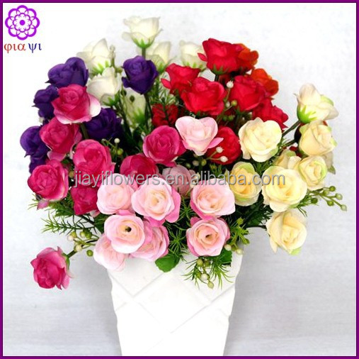 Cheap Decoration Wedding Artificial Red Rose Flowers Buy Cheap