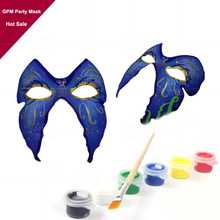 mardi gras mask men BLACK LACE & SILVER VENETIAN MASQUERADE CARNIVAL PARTY MASK WITH PaperS