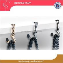 High Quality Fashion Foldable Metal Bracelet Purse Holder Table Top Bag Hangers