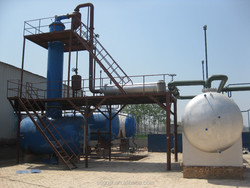 High-Efficiency Used Engine Oil Refining Plant to Diesel and Gasoline