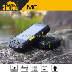 Snopow M6 IP68 waterproof phone with physical button 3.5 inches 3g wifi dual sim android phone