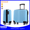 Alibaba China best seller airline travel luggage ABS material cabin size luggage case carry on trolley bag