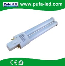 high quality double tubes 9w GX23 2G7 G23 led bulb/g23 LED PL lamp