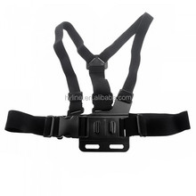 B Molel Chest Mount Strap Harness with 3-way adjustment base with bag For G opro HD 3+/3/2/1 Sport camera accessories
