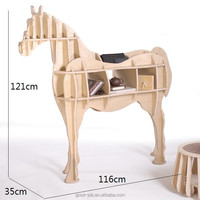 Unique Camel and horse style book shelf