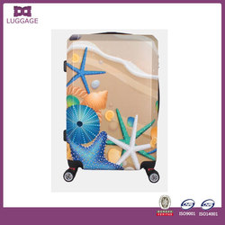 Elegant Colorful crown luggage china/Suitcase