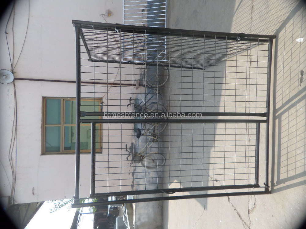 metal large dog kennels ANTI-CLIMB BAR SYSTEM DOG RUN PEN CAGE