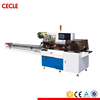 Touch screen adhesive tape flow packing machine