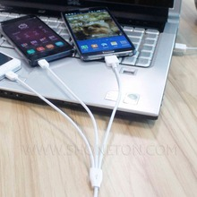 wholessale 3 in 1 usb charger cable for phone