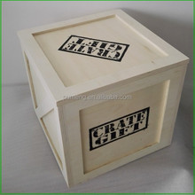Wooden Plywood Cabinet Box For Christmas Gift