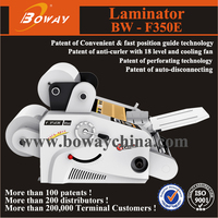 BOWAY F350E double side cold hot film a4 laminator heat machine