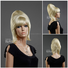 soft comfortable wig unique design girl the party wigs