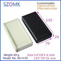 2 x AA battery electronics enclosure instrument box